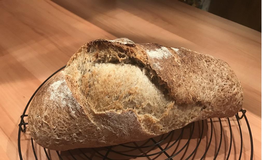 Histoire de pain, de farine, d'eau et de la vie